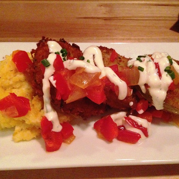 Fried Green Tomatoes - Lowcountry Bistro, Charleston, SC