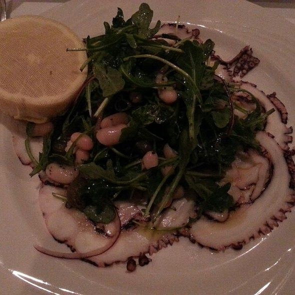 Octopus Carpaccio - Fiamma Restaurant, Charlotte, NC
