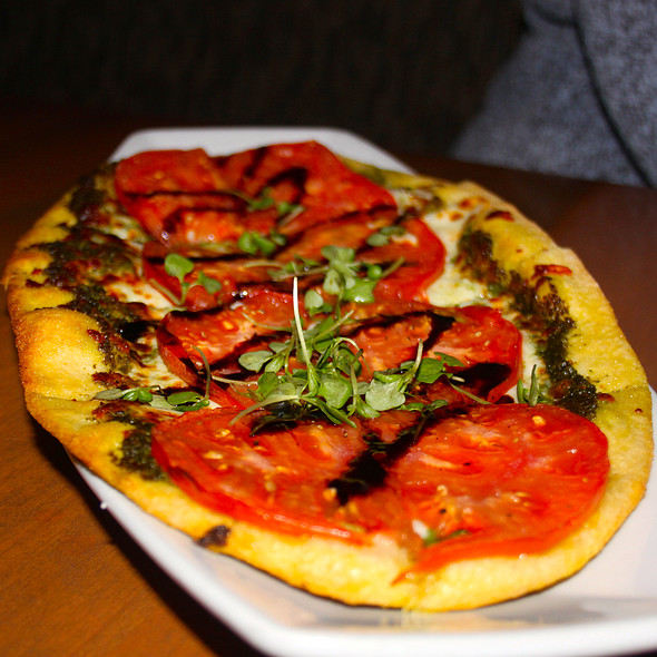 Tomato Pesto Flatbread - Chapter One: the modern local, Santa Ana, CA