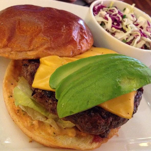 California Cheeseburger - Gordon Biersch Brewery Restaurant - Plano, Plano, TX