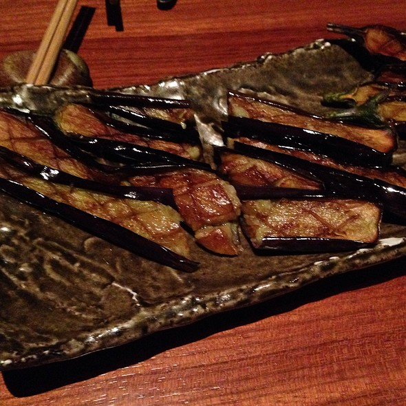 Grilled Aubergine - Novikov - Italian Restaurant, London