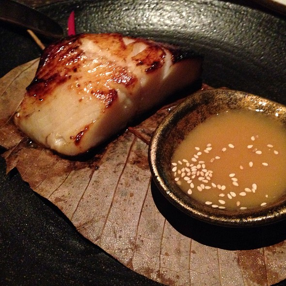 Black Cod Miso - Novikov - Italian Restaurant, London
