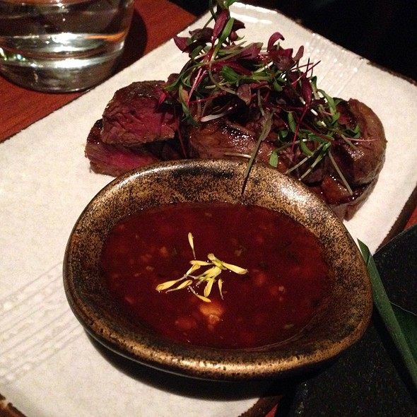 Spicy fillet of beef - Novikov - Italian Restaurant, London