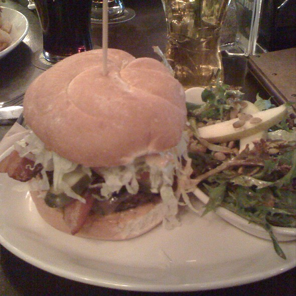 Hamburger With Bacon - Bard & Banker, Victoria, BC