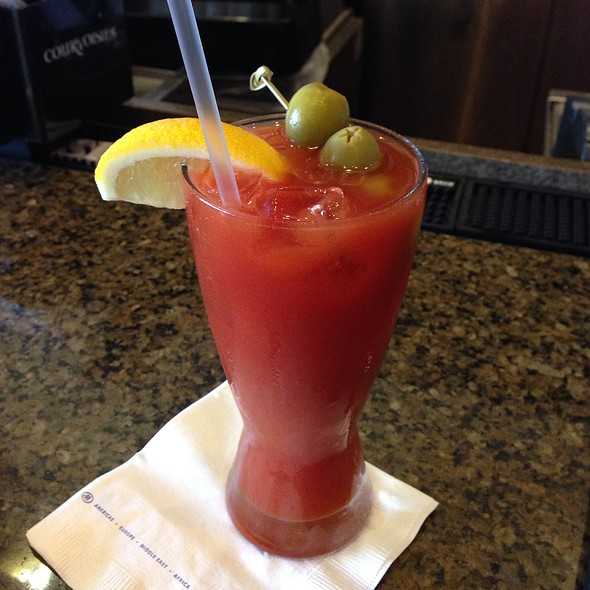 Bloody Mary - Catch Bar & Grill - Marriott - Biscayne Bay - Miami, Miami, FL