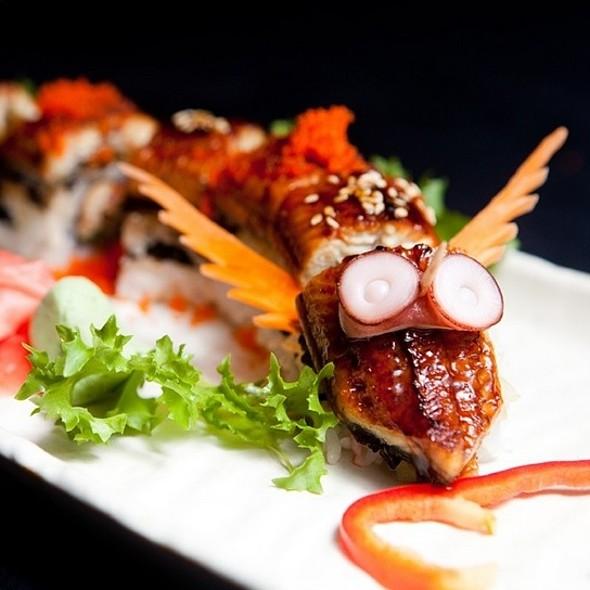 Dragon Roll - Seorabol Korean Restaurant, Philadelphia, PA