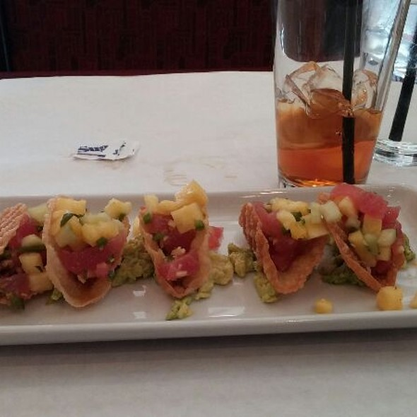 Mini Tuna Tacos - Ritz Grill, Colorado Springs, CO