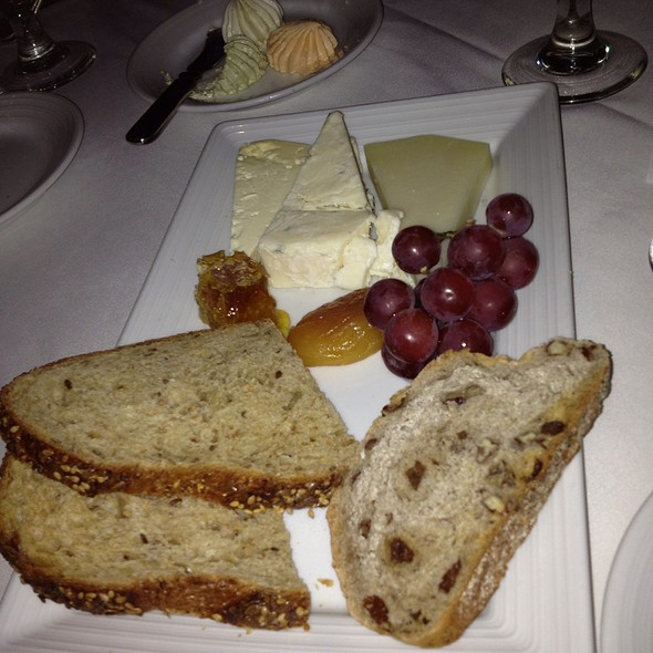 Cheese Plate - Top of the World Restaurant - Stratosphere Hotel, Las Vegas, NV