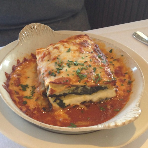 Vegetable Lasagna - Mustards Grill, Yountville, CA