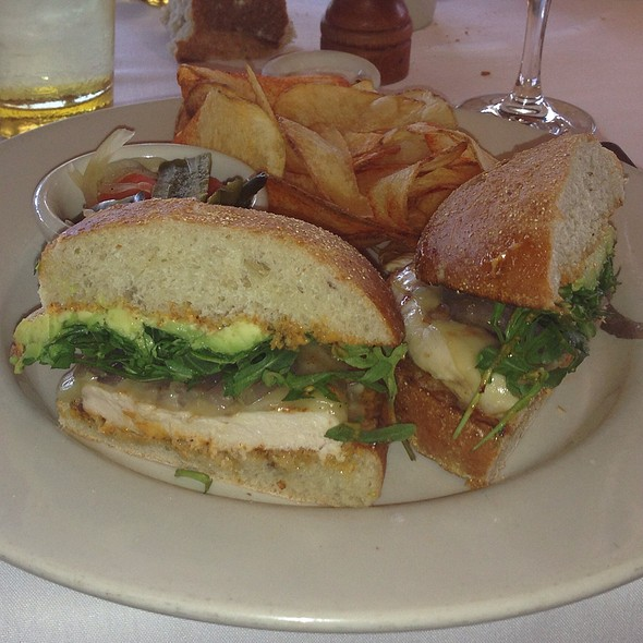 Chicken Breast Sandwich - Mustards Grill, Yountville, CA