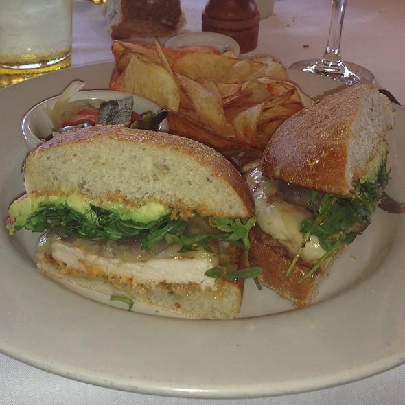 Chicken Breast Sandwich - Mustards Grill, Yountville, CA