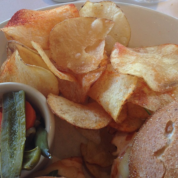House-made Chips - Mustards Grill, Yountville, CA