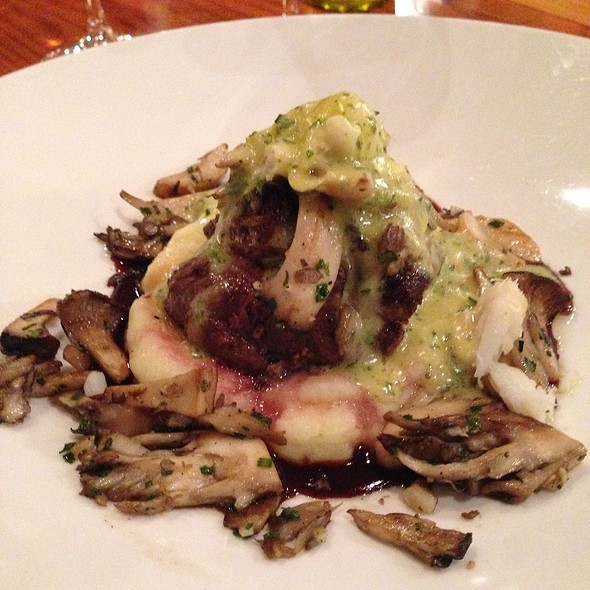 Steak with Mashed Potatoes - Wine Spectator Greystone Restaurant at The Culinary Institute of America, St. Helena, CA