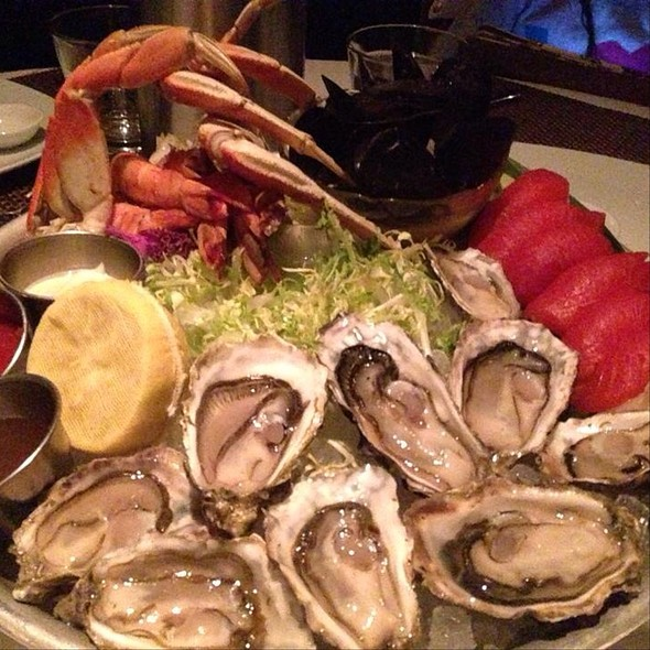 Seafood Platter - COAST Restaurant, Vancouver, BC