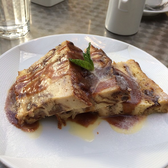 Bread Pudding! - Café Sebastienne, Kansas City, MO