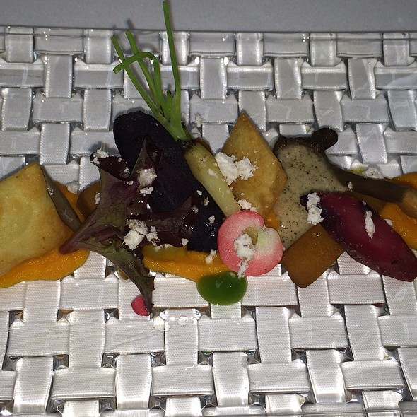 Winter Salad - Q Haute Cuisine (formerly La Caille), Calgary, AB
