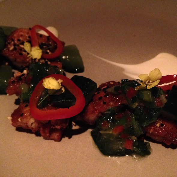 Chicken Wings - Aziza, San Francisco, CA