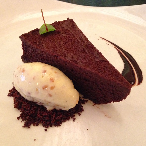 Chocolate Cake - Gotham Bar and Grill, New York, NY