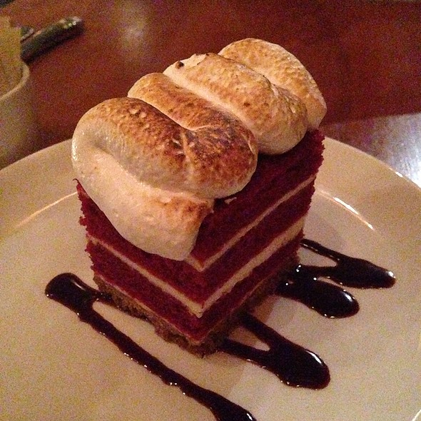Red Velvet S'mores Torte - Anchor and Hope, San Francisco, CA