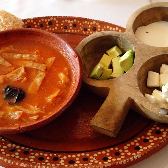 Sopa De Tortilla - Fonda Garufa, Mexico, CDMX