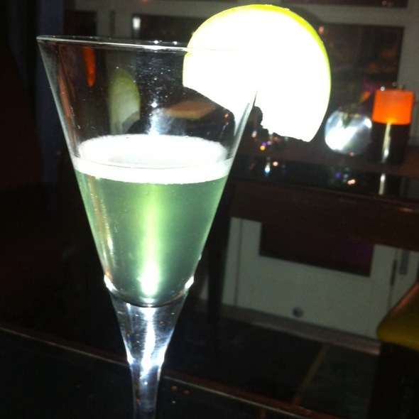 Apple martini - Gaby Brasserie Française, New York, NY