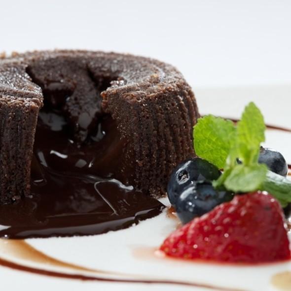 Molten Chocolate Cake - Fiorino, Summit, NJ