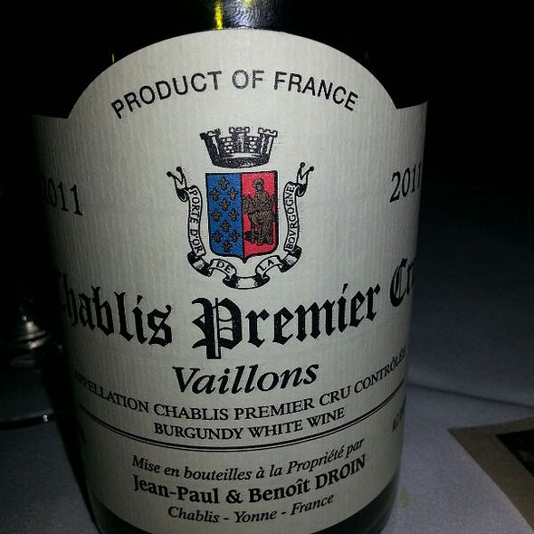Chablis Premier Cru - Log Haven, Salt Lake City, UT