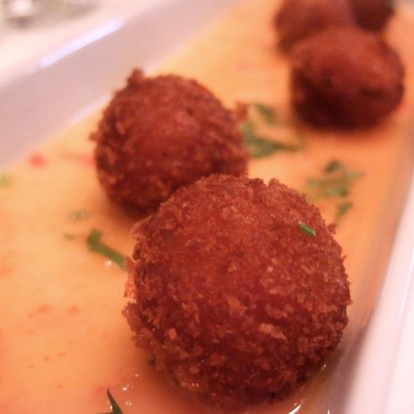 Sweet Potato Croquettes - Xiomara on Melrose, Los Angeles, CA