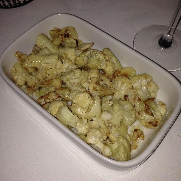 Truffle Parmesan Cauliflower - Le Castagne, Philadelphia, PA