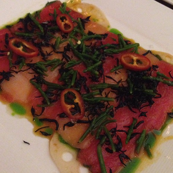 Tuna And Hamachi Crudo - VITAE, New York, NY