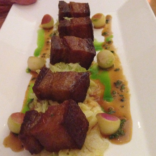 Crispy Pork Belly - VITAE, New York, NY