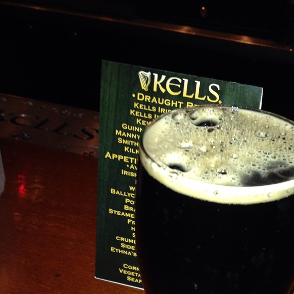 Kells Seasonal Porter - Kells Irish Restaurant & Bar, Seattle, WA