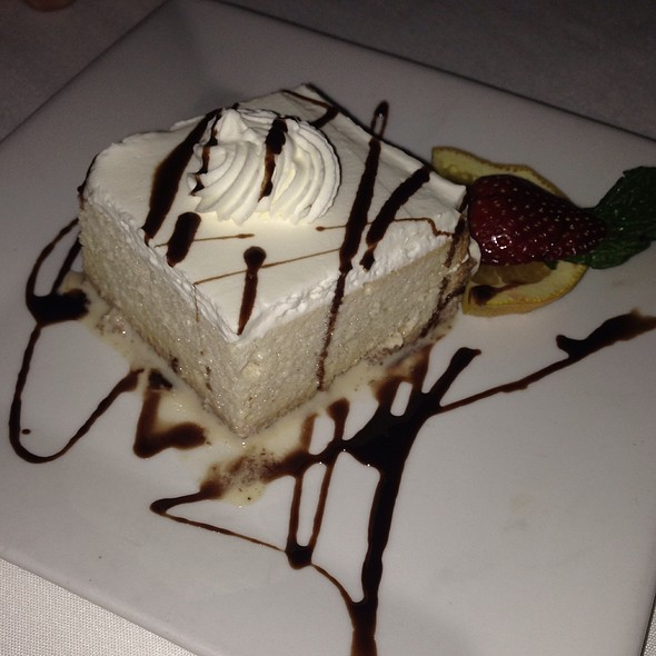 Tres Leches Cake - Tequila's Restaurant, Philadelphia, PA