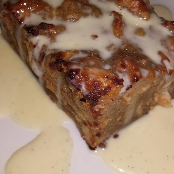 Bread Pudding - Cafe Navarre, South Bend, IN