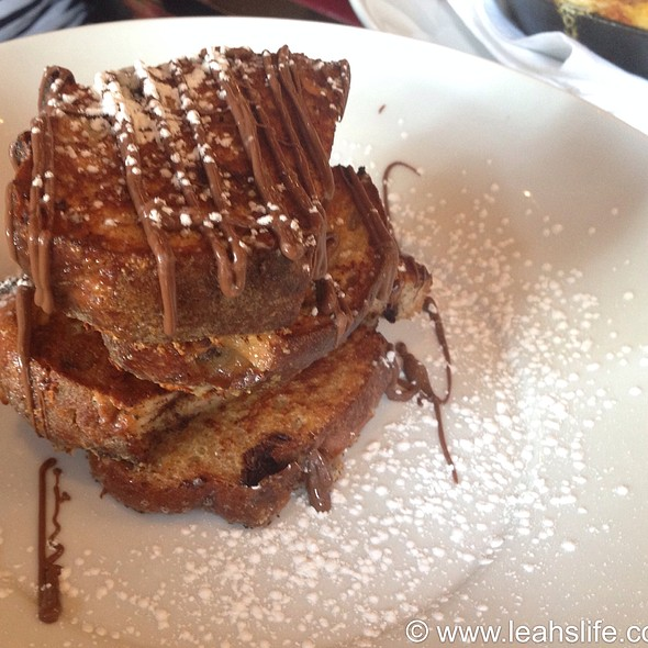 Chocolate French Toast - OAK Long Bar + Kitchen, Boston, MA