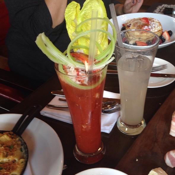 Lobster Bloody Mary - OAK Long Bar + Kitchen, Boston, MA