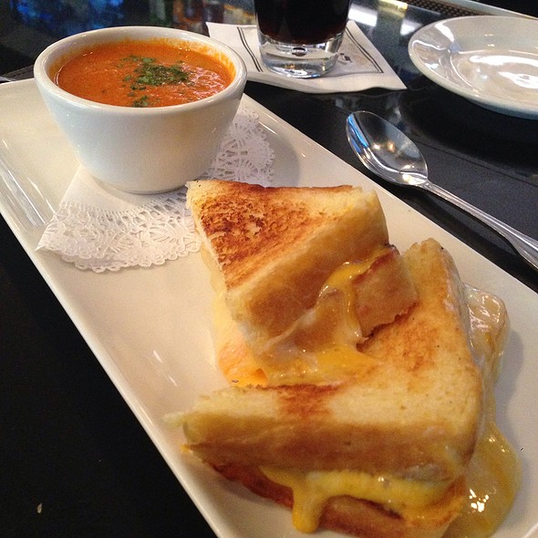 Grilled Cheese and Tomato Soup - Morton's The Steakhouse - Houston - Downtown, Houston, TX