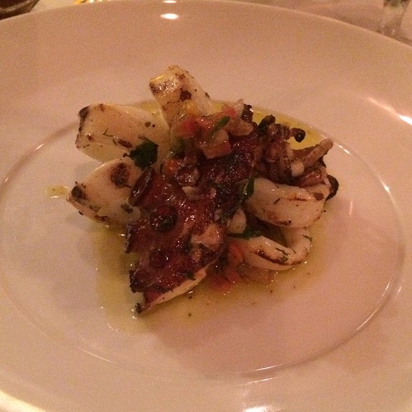 Grilled Squid and Octopus - Chiado, Toronto, ON