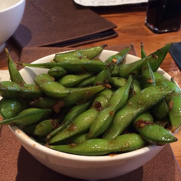 Spicy Garlic Soy Edamame - Wokcano - Burbank, Burbank, CA