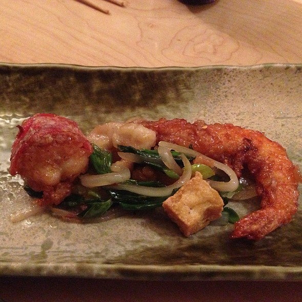 Lobster, Shrimp, & Tofu Sichuan Stir Fry - Neta, New York, NY