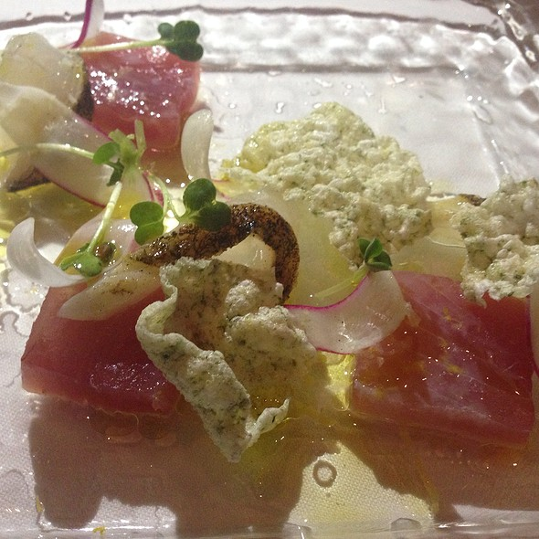 Todays Crudo - Ame, San Francisco, CA