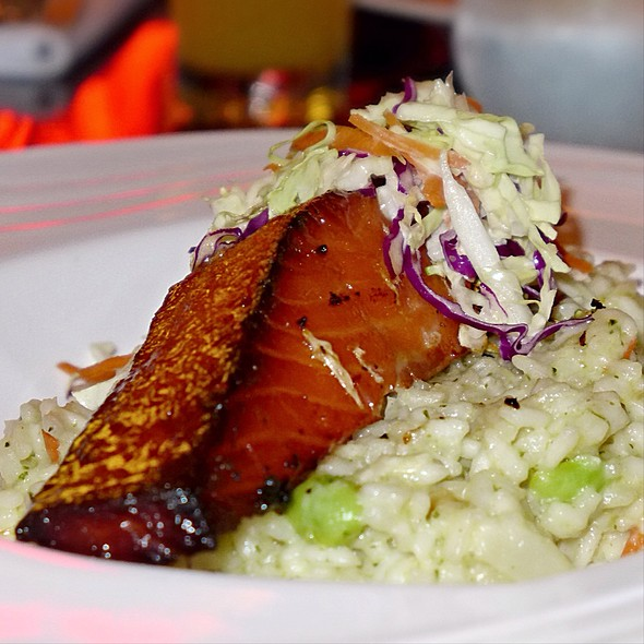 Miso Glazed Salmon - Restaurant Epic, Honolulu, HI