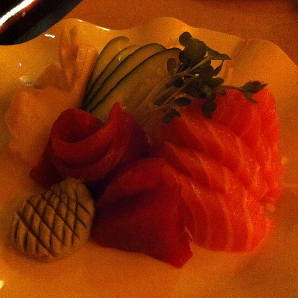 Sashimi Plate - Sapporo Grill, Sacramento, CA