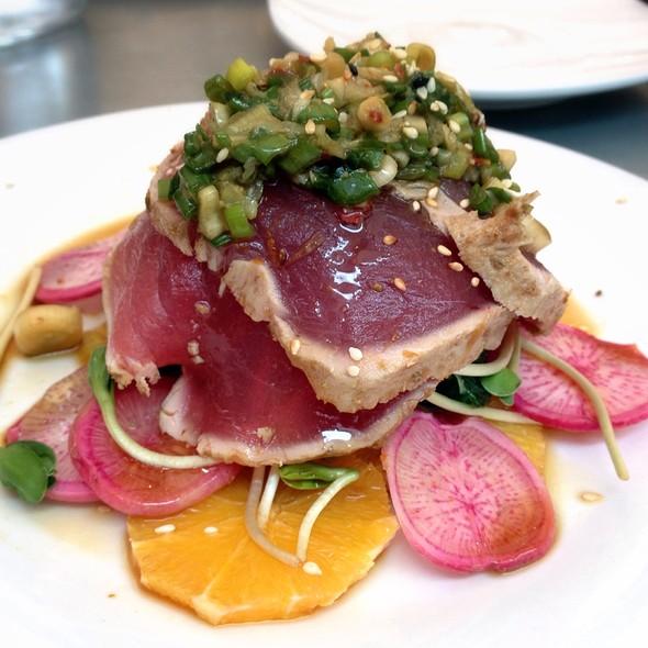 Ahi Tuna Tataki Style - Thomas Hill Organics, Paso Robles, CA
