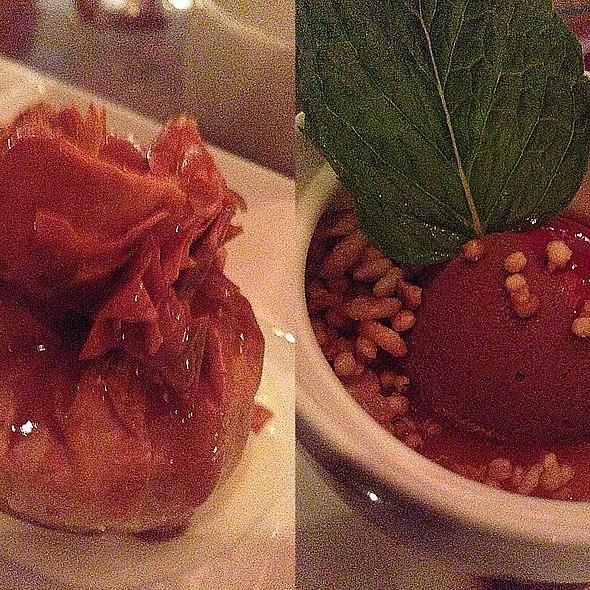 Winterlicious Dessert - Bent, Toronto, ON