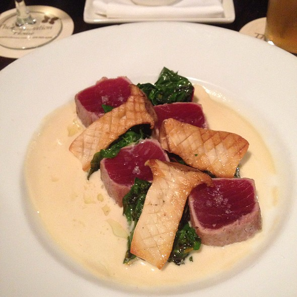 Ahi In The Style Of Italy - The Plantation House Restaurant, Kapalua, HI