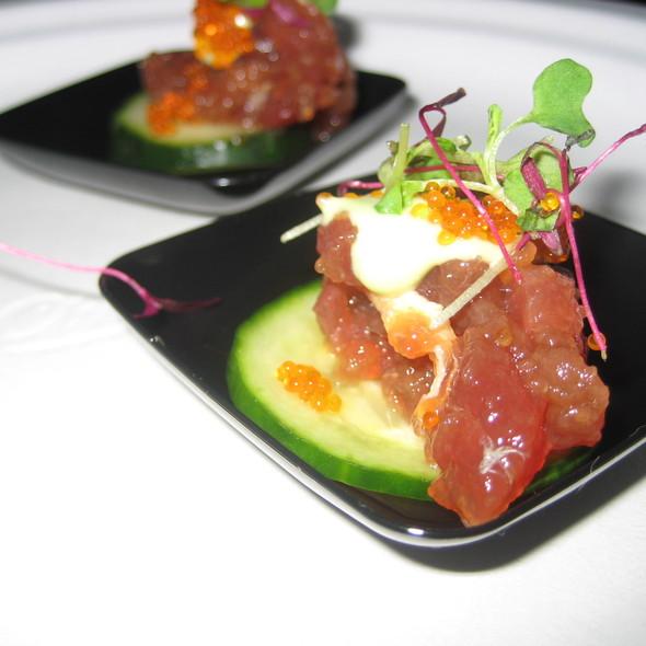 Ahi Tuna Appetizer - Pistache French Bistro, West Palm Beach, FL