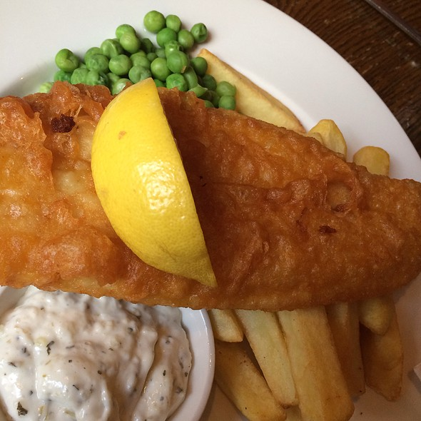 Fish and Chips - The Mitre, London