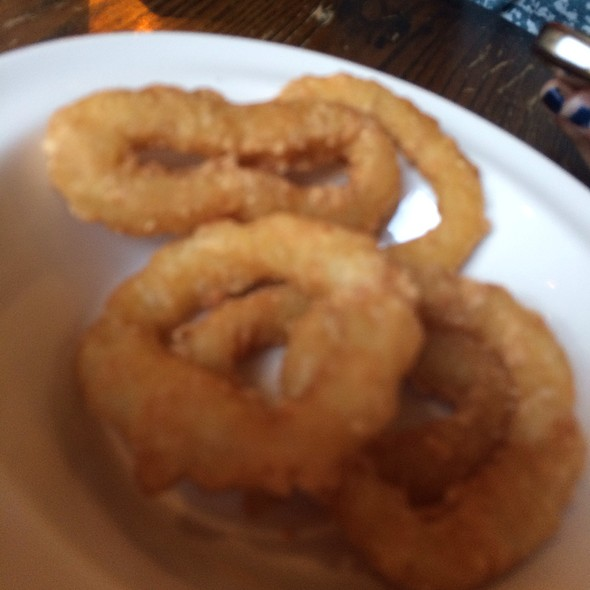 Onion Rings - The Mitre, London