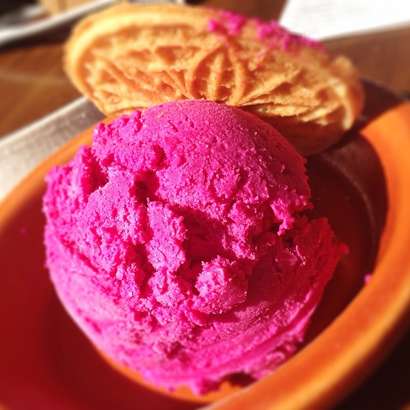 Beet Ice Cream - Whisknladle, San Diego, CA